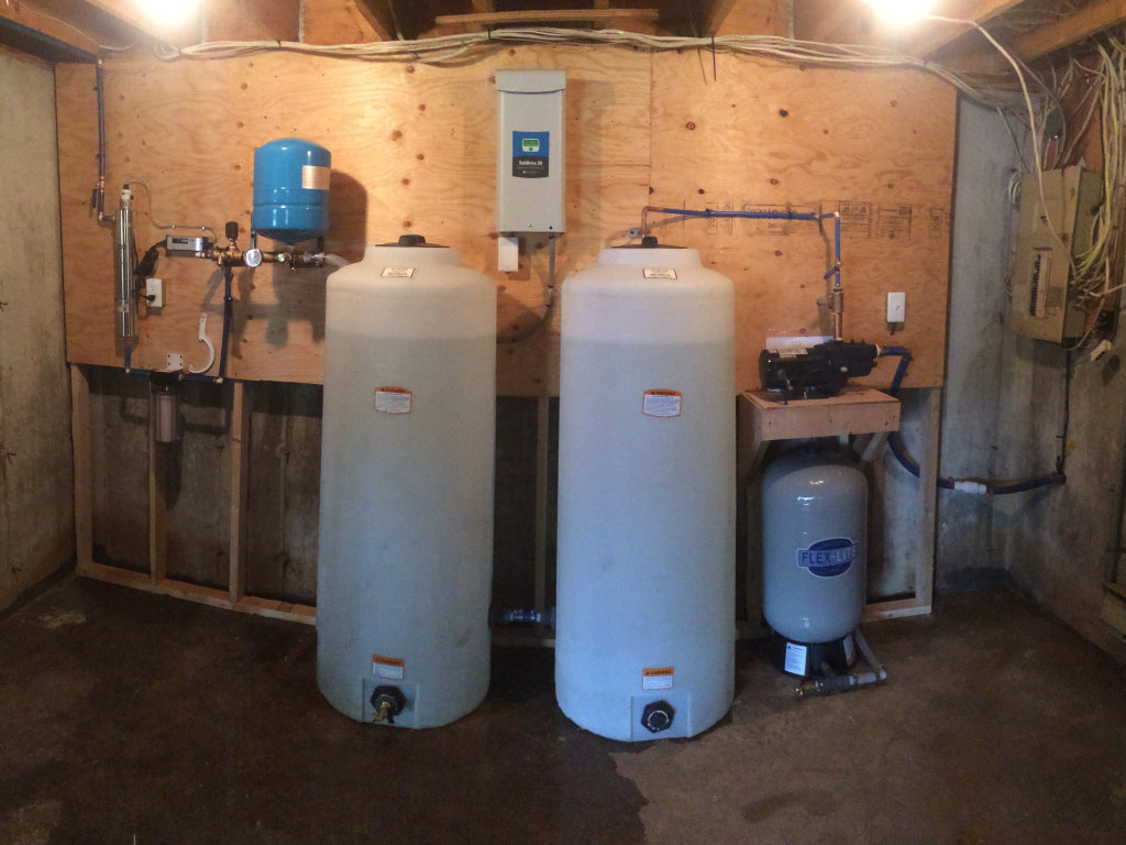 water treatment installation